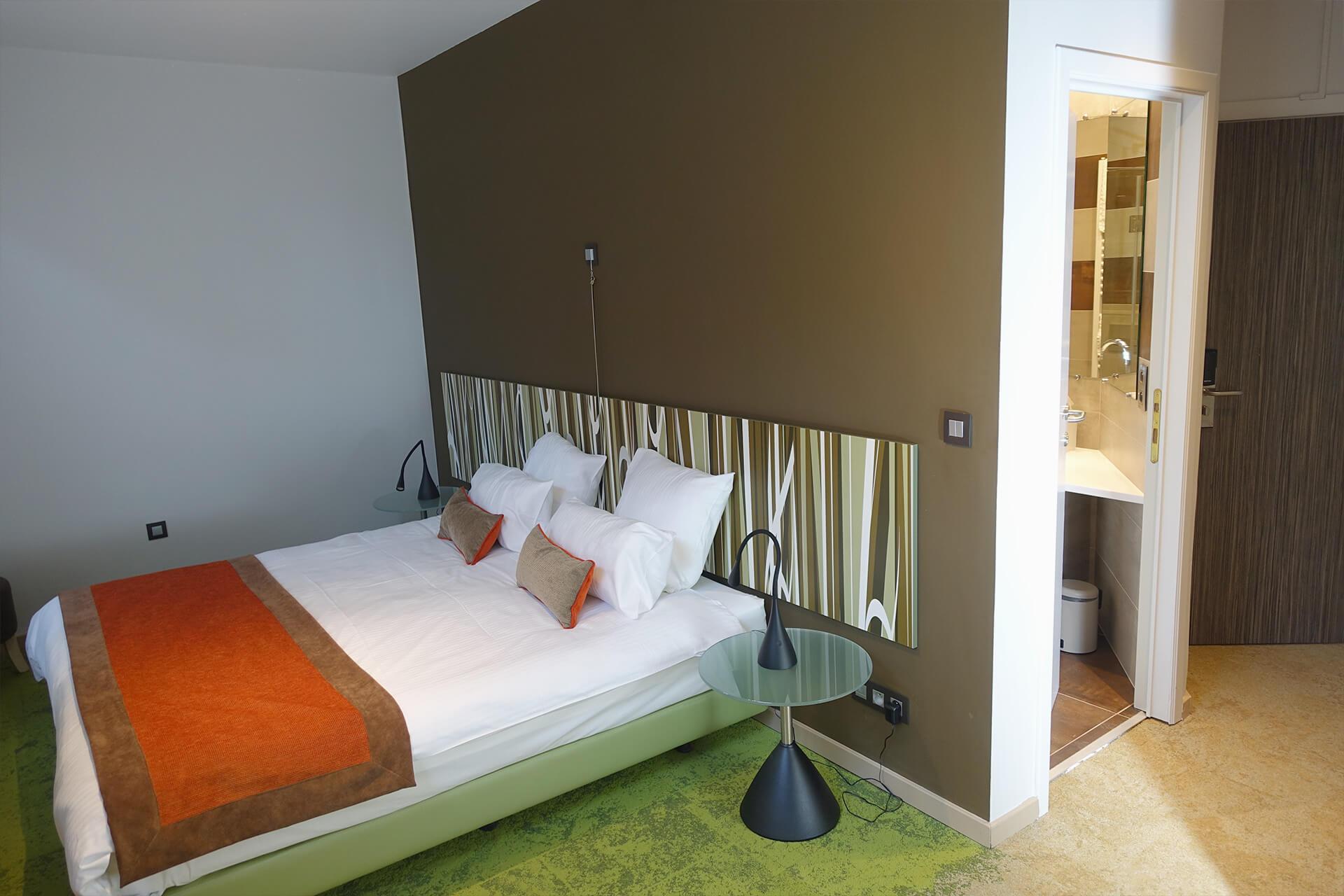 Chambre double premium de l'Hôtel du Parc