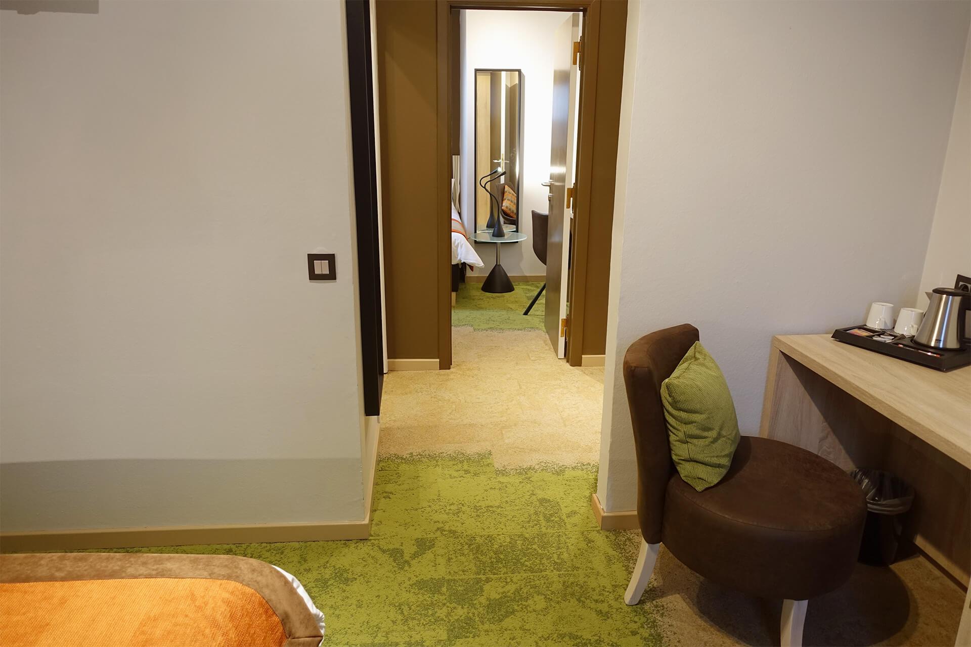 Chambre suite junior de l'Hôtel du Parc