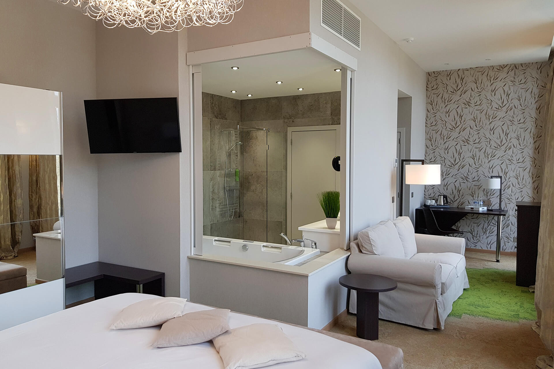 Chambre suite Luxe de l'Hôtel du Parc